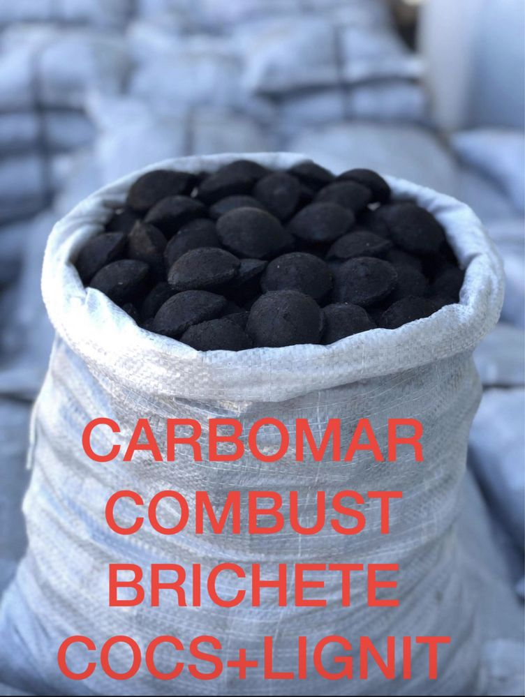 Brichete cocs+ lignit , carbuni, cocs, brichete fag