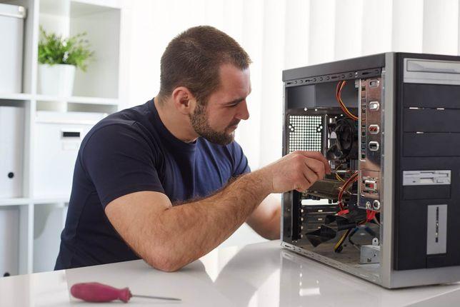 Выезд и диагностика = 0 тг. Ремонт компьютеров и ноутбуков за 1 день.
