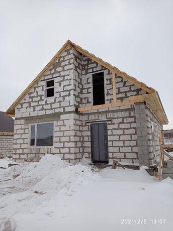 Продам недостроенный дом, с земельным участком