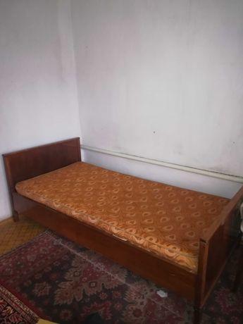 Кровать деревянная полуторка