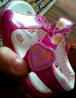 Sandale piele lăcuită Italia nr.20