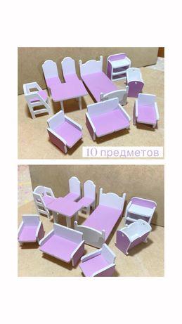 Мебель для кукол, кукольная мебель, мебель для игрушек Алматы