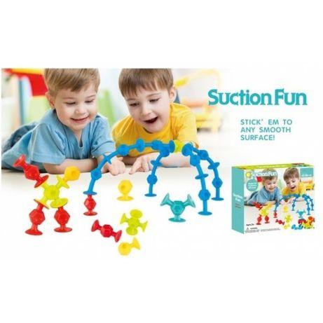 Joc proiectare si constructii SuctionFun,jucarie pentru copii
