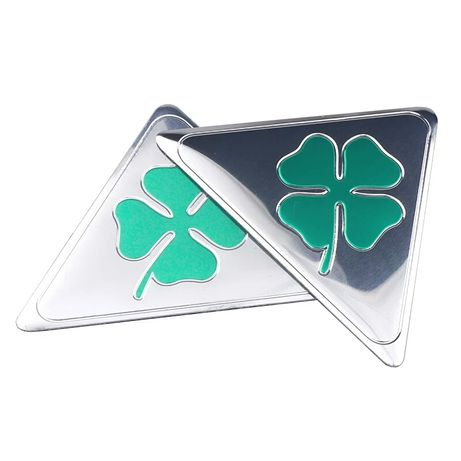 Embleme -  quatrefoil green