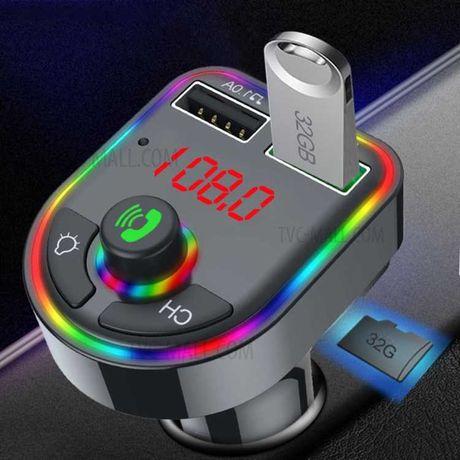 Нов Модел Блутут Хендсфри Трансмитер 12-24V Bluetooth Transmitter