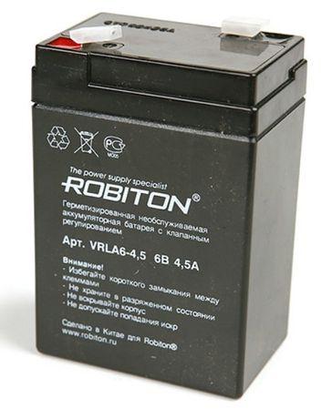 Аккумуляторы для детских машинок 6 вольт 4,5А