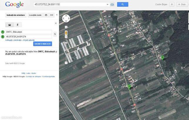 Teren de casa in comuna Baiculesti