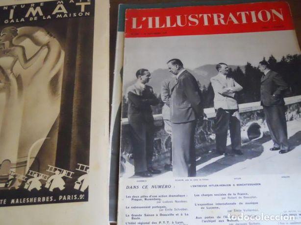 Revista L'illustration 1938 Completa Toate numerele Colegate 2 Volume