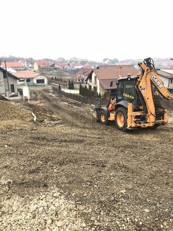Prestări servicii utilaje construcții