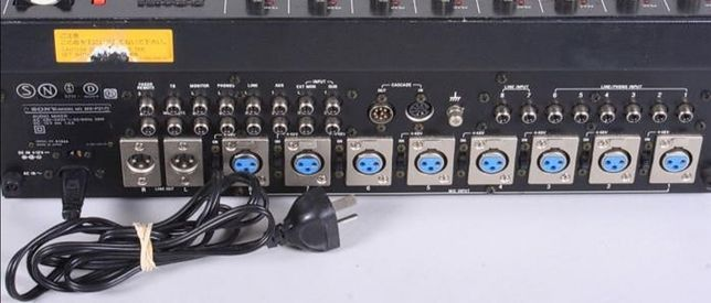 Sony MX-P21, Audio Mixer, 8 canale , 3 Band Equalizers, Vintage-Japan