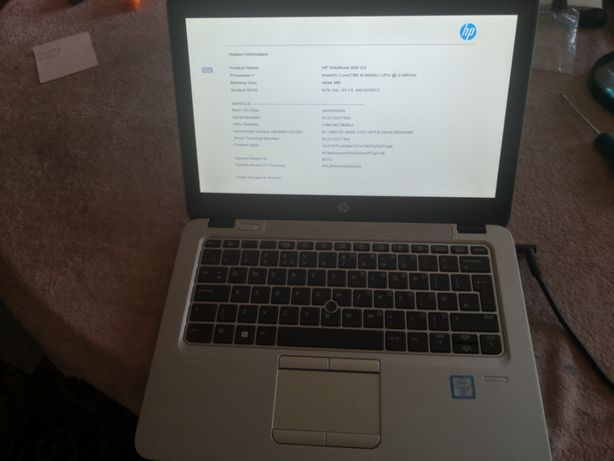Laptop Hp EliteBook 820 G3 , I5 6300, 2,4/3 GHz, 4 GB DDR4, SSD 480 GB