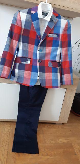 Costum ocazie 3 piese marime 120-130 cm