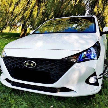 Бампер Hyundai Accent Solaris 2020- рейсталинг в наличие оригинал