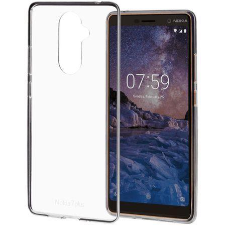 Husa de protectie Premium Clear Case Nokia 7 Plus CC-708 originala