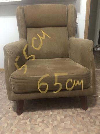 Кресло б/у удобное, симпатичное, модное