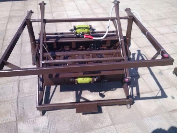 Станок для производства пескоблока, шлакоблока, Шымкент