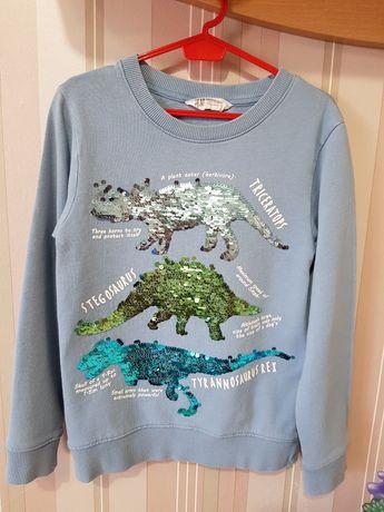 Блузка H&M с динозаври