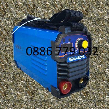 250А МАХ Мини 2,5 кг Електрожен инверторен 4м каб дисплей НA