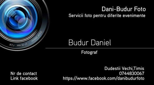 Servicii Foto Video pentru diferite evenimente din viata ta