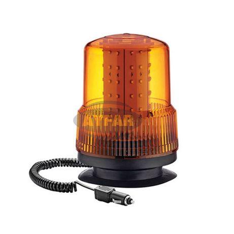 LED Аварийна Сигнална Лампа Маяк Буркан Блиц Лед 12V 24V Трактор и Др.