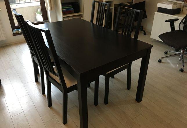 Set dining pentru sufragerie (masa + 4 scaune)