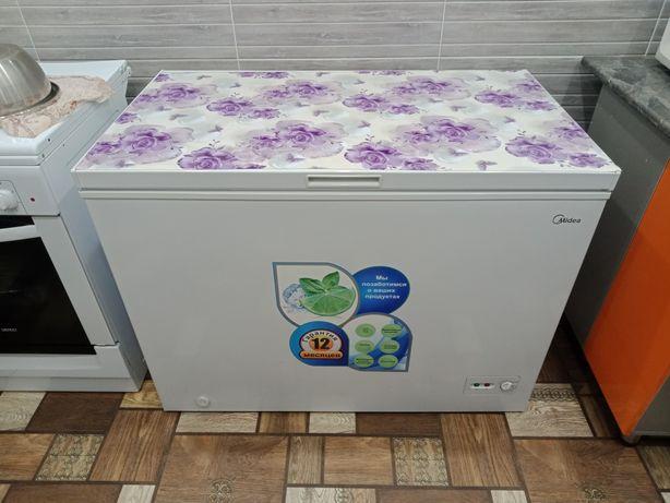 Морозильник в идеальном состоянии