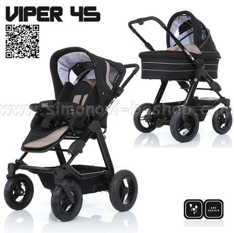 Комбинирана бебешка количка ABC design Viper 4S