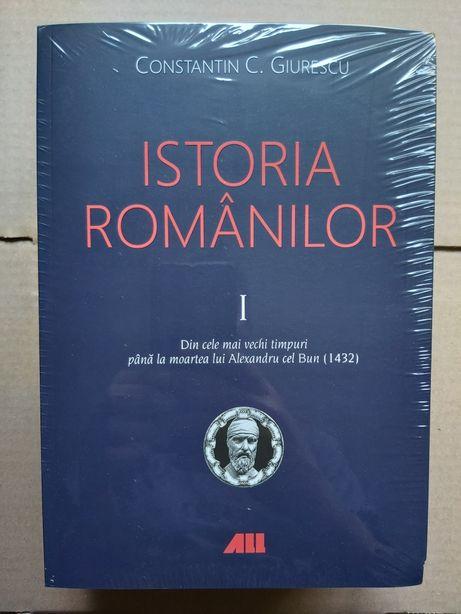 Vand Ctin C. GIURESCU Istoria romanilor (vol. I-III)