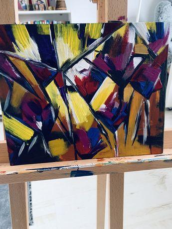 Tablou IRISI- pictura abstracta acrilic