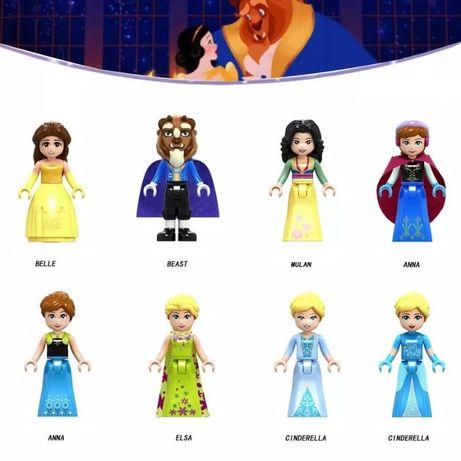 Лего минифигурки за сглобяване с Дисни Принцеси и Френдс (5 см