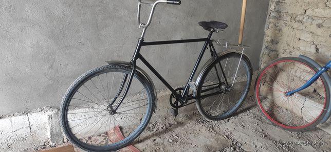 Велосипед Урал всё в норме уступим нормально
