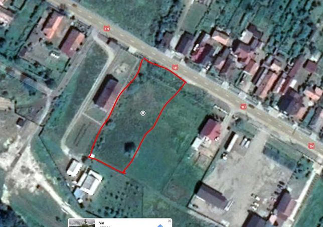 Teren Intravilan Intabulat cu CF Oras Jibou sat Var
