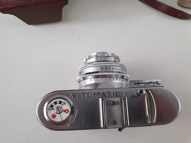 Vintage  Slr Voigtlander Vitomatic Ia , 1957 , etui