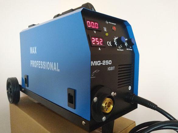 250А Со2 Телоподаващ апарат MIG-250А с транзистори ТОSHIBA