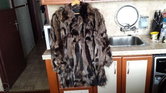 кожено палто от миещти ме4ки