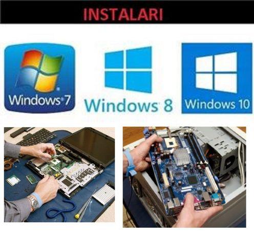 Instalare windows xp, 7, 8, 10, calculator laptop –ma deplasez