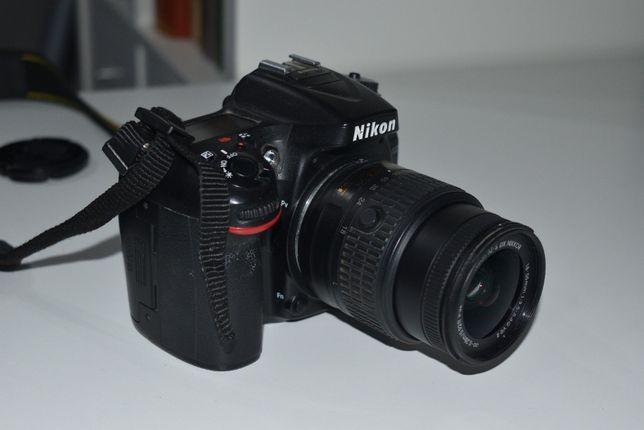 Nikon D7100 cu obiectiv kit si cu obiectiv fix de 50mm de la Nikon