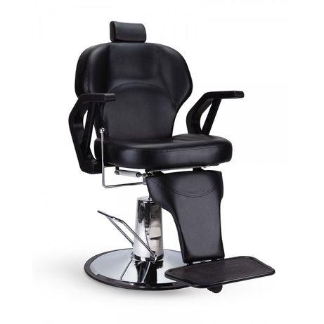 Scaun frizerie 3320 scaun coafor scaun barber negru