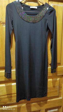 Продам Чёрное коктейльное платье
