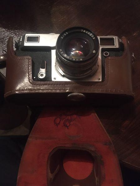 Стар руски фотоапарат гр. Плевен - image 1