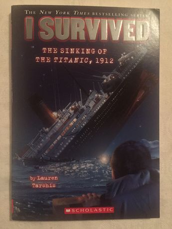 Carte I Survived The Sinking of the Titanic,1912 by Lauren Tarshis