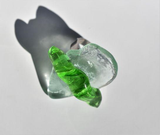 Пръстен от стъкло мурано. Fusing