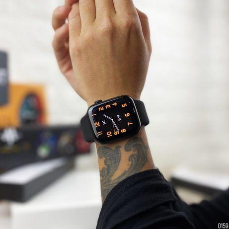 Смарт-часы Watch Series 6 HW22 PLUS 44mm беспроводной зарядкой airpods