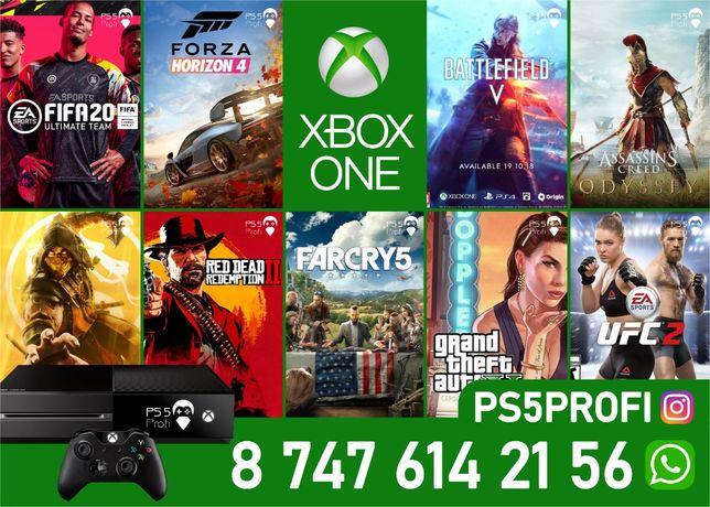 Игры на XBOX ONE закачка FIFA20 UFC3 GTA5 Mortal Полная Лицензия