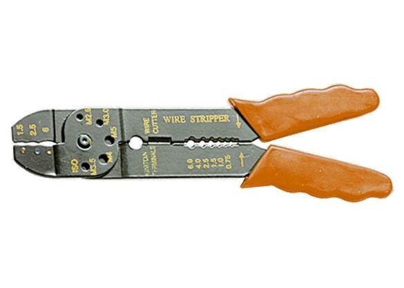 Клещи за сваляне на изолация и кримпване, 210mm, 1,5-6,5mm // SPARTA