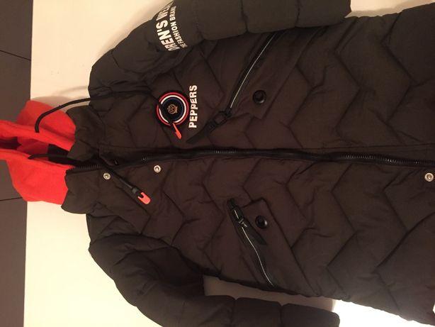 зимняя новая куртка на мальчика 6-7 лет