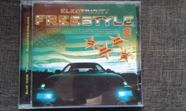CD Electricity Freestyle 2-Still Electro,Freestyle si Breakdance 1999