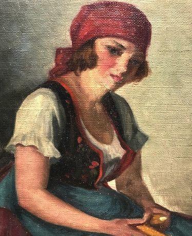 Negociabil! Tablou foarte vechi, AUTENTIC, Szasz Istvan (1878 - 1965)