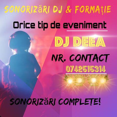 DJ&FORMAȚIE evenimente