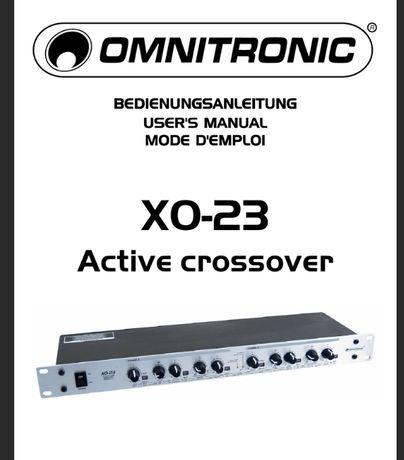 Кроссовер активный XO-23 omnitronic